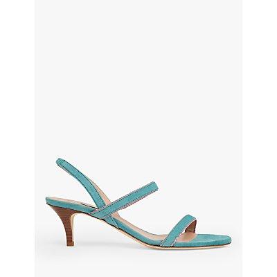 L.K.Bennett Nala Suede Sandals, Light Blue
