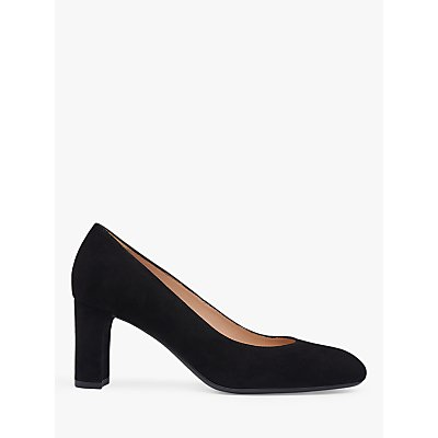 L.K.Bennett Winola Suede Court Shoes, Black