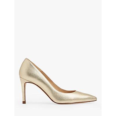 L.K.Bennett Floret Pointed Toe Court Shoes