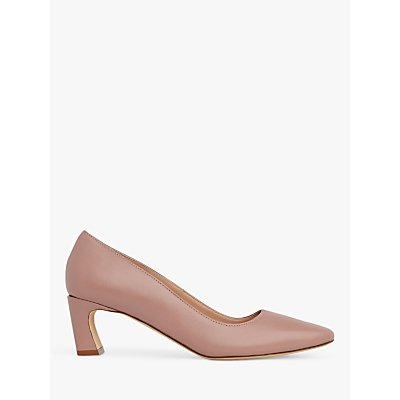 L.K.Bennett Freya Pointed Toe Leather Court Shoes