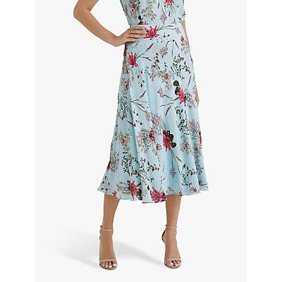 Fenn Wright Manson Lynette Skirt, Blue/Sprig Blossom