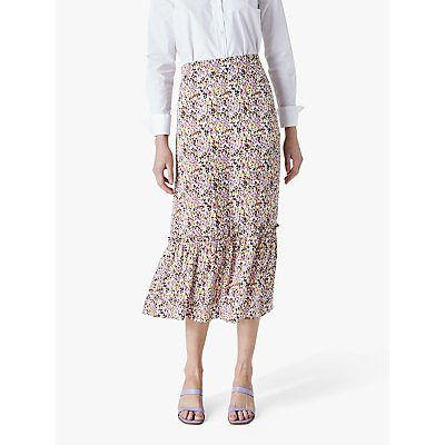 Finery Alaina Floral Printed Skirt