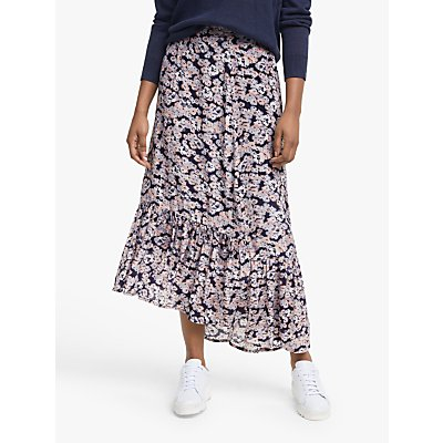 Lily and Lionel Cleo Floral Print Maxi Skirt, Confetti