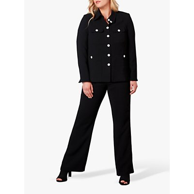 Live Unlimited Curve Tailored Trousers, Black