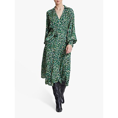 Winser London Rose Wrap Dress