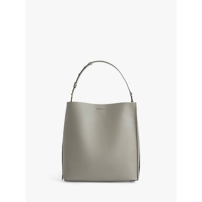 AllSaints Celadine North South Large Leather Tote Bag