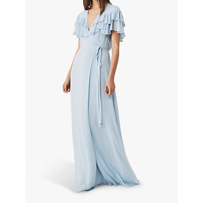 Ghost Estela Maxi Dress, Dream Blue