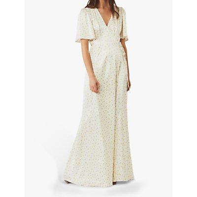 Ghost Perla Wrap Dress, Minnie Roses