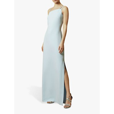 Ted Baker Sannsa Asymmetric Strap Maxi Dress