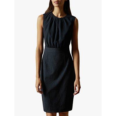 Ted Baker Angilad Mockable Dress, Dark Navy
