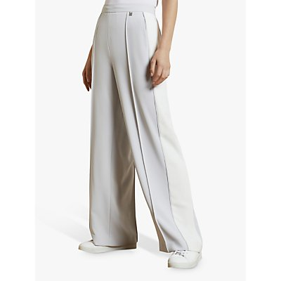 Ted Baker Clarpa Wide Leg Trousers, Ivory
