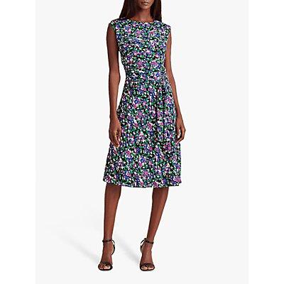 Lauren Ralph Lauren Vilodie Floral Dress, Polo Black/Multi