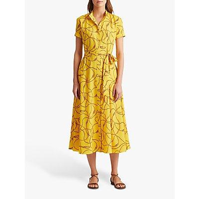 Lauren Ralph Lauren Kurko Chain Print Dress, Dandelion Fields