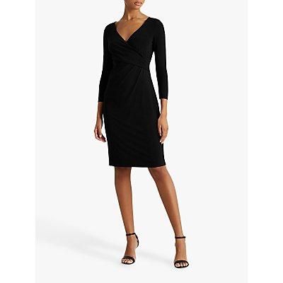 Lauren Ralph Lauren Cleora Day Midi Dress, Black