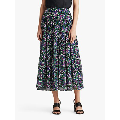 Lauren Ralph Lauren Pauldina Skirt, Black/Multi