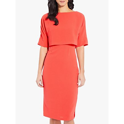 Adrianna Papell Cameron Sheath Dress, Sugar Coral