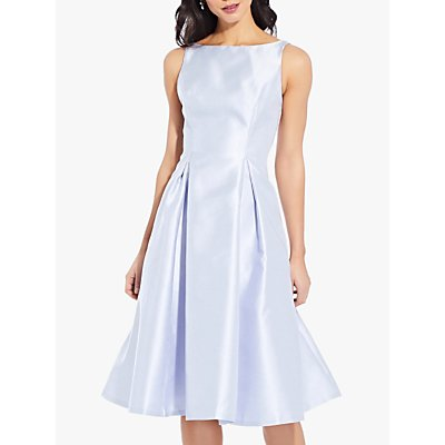 Adrianna Papell Sleeveless Tea Dress, Light Blue