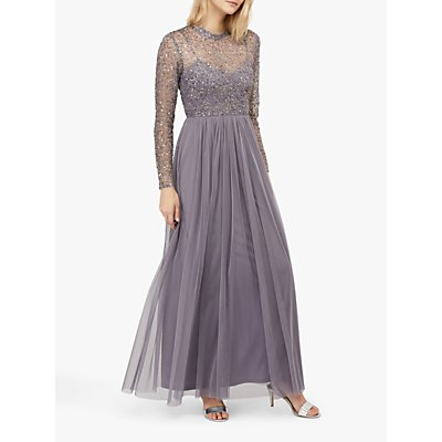 Monsoon Otta Maxi Dress, Grey