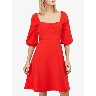 Monsoon Sarah Short Dress, Red