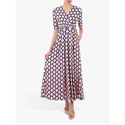 Jolie Moi Sleeved Jersey Maxi Dress, Pink