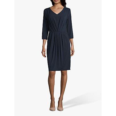 Betty Barclay V-Neck Jersey Dress, Dark Sky