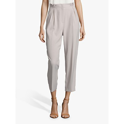 Betty Barclay Button Waist Cropped Trousers