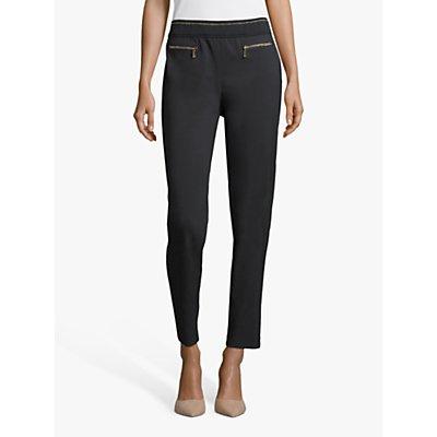 Betty Barclay Metallic Zip Pocket Trousers