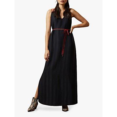 Ted Baker Farli Sleeveless Maxi Dress, Dark Blue
