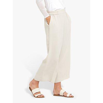 Helen McAlinden Carol Wide Leg Trousers, Vanilla