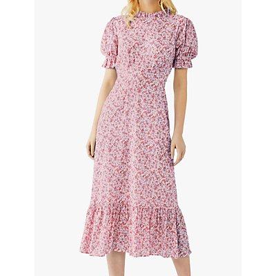 Ghost Solene Floral Midi Dress