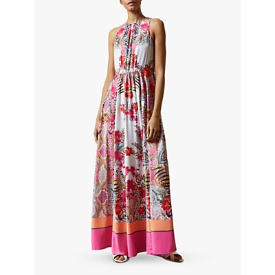Ted Baker Laniah Floral Maxi Dress, Ivory
