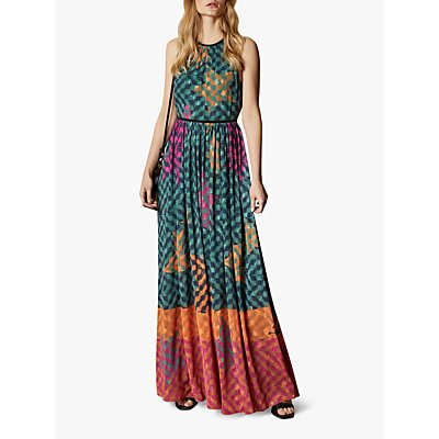 Ted Baker Zohzoh Abstract Maxi Dress, Multi