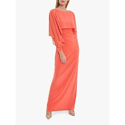 Gina Bacconi Ionela Jersey Maxi Cape Dress