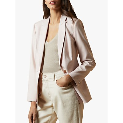 Ted Baker Farlee Suit Jacket, Baby Pink