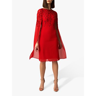 Raishma Gracie Embellished Cape Dress