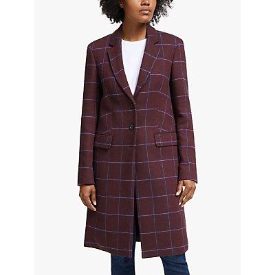 PS Paul Smith Single Breasted Coat, Purple