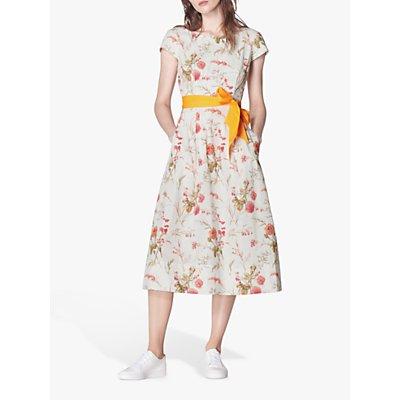 L.K.Bennett Glenda Dress, White/Multi