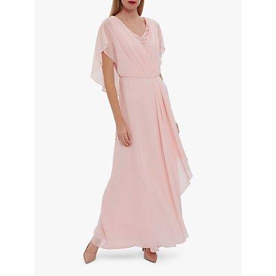 Gina Bacconi Maylee Beaded Neckline Maxi Dress
