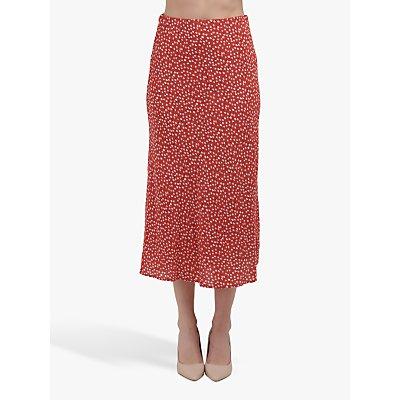 Rails Daisy Print Midi Skirt, Carmine