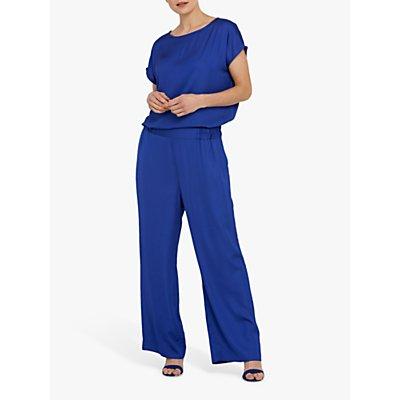 Helen McAlinden Charlie Wide Leg Trousers, Blue