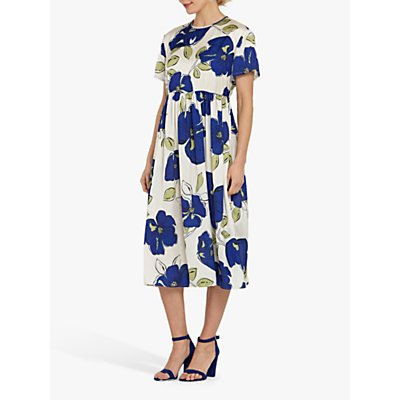 Helen McAlinden Louise Floral Midi Dress, Multi