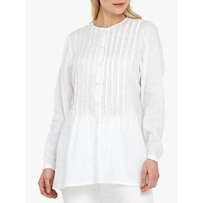 Helen McAlinden Poet Linen Shirt, White