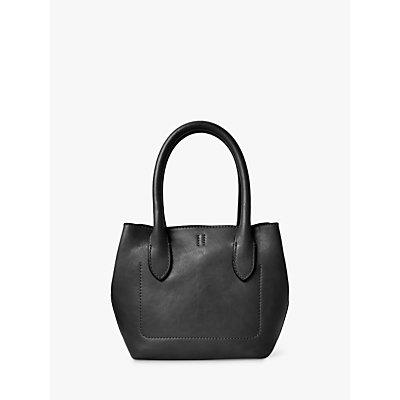 Polo Ralph Lauren Vachetta Leather Tote Bag, Black