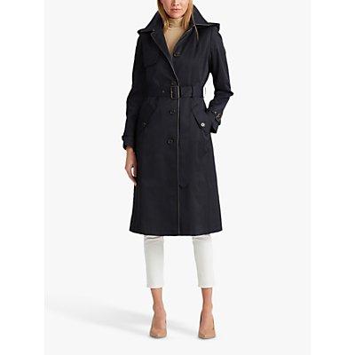Lauren Ralph Lauren Trench Coat, Dark Navy