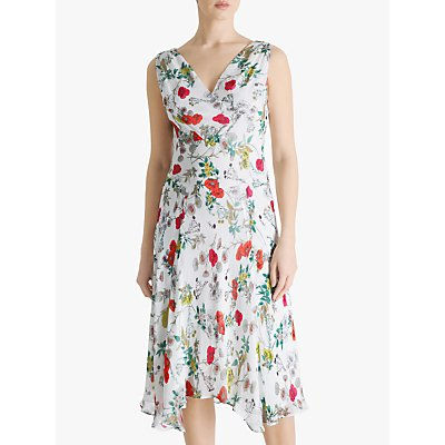 Fenn Wright Manson Lisette Meadow Print Sleeveless Dress, Multi