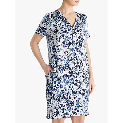 Fenn Wright Manson Estelle Dress, Blue Animal Print