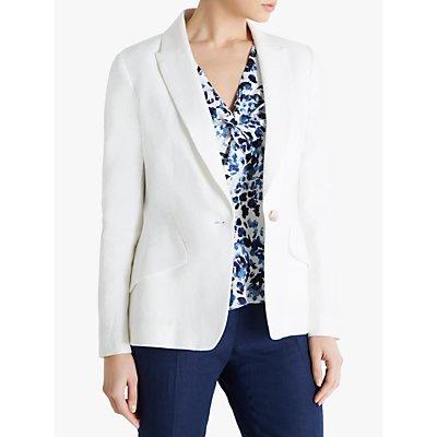 Fenn Wright Manson Ariane Linen Jacket, Ivory