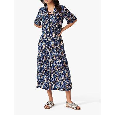 Brora Liberty Floral Shirt Tea Dress, Multi