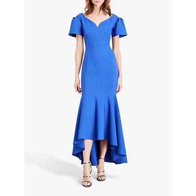 Damsel in a Dress Maddi Bardot Maxi Dress, Cornflower