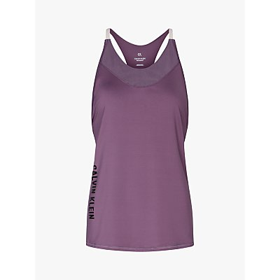 Calvin Klein Performance Tank Top, Purple
